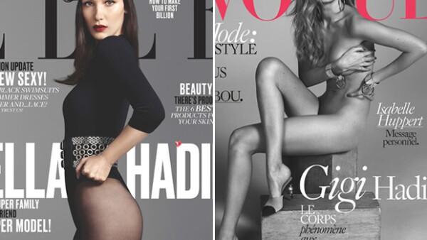 Mientras que la mayor de las Hadid ha sido la &#39cover girl&#39 de muchos títulos, jamás ha posado para la versión estadounidense de ELLE.