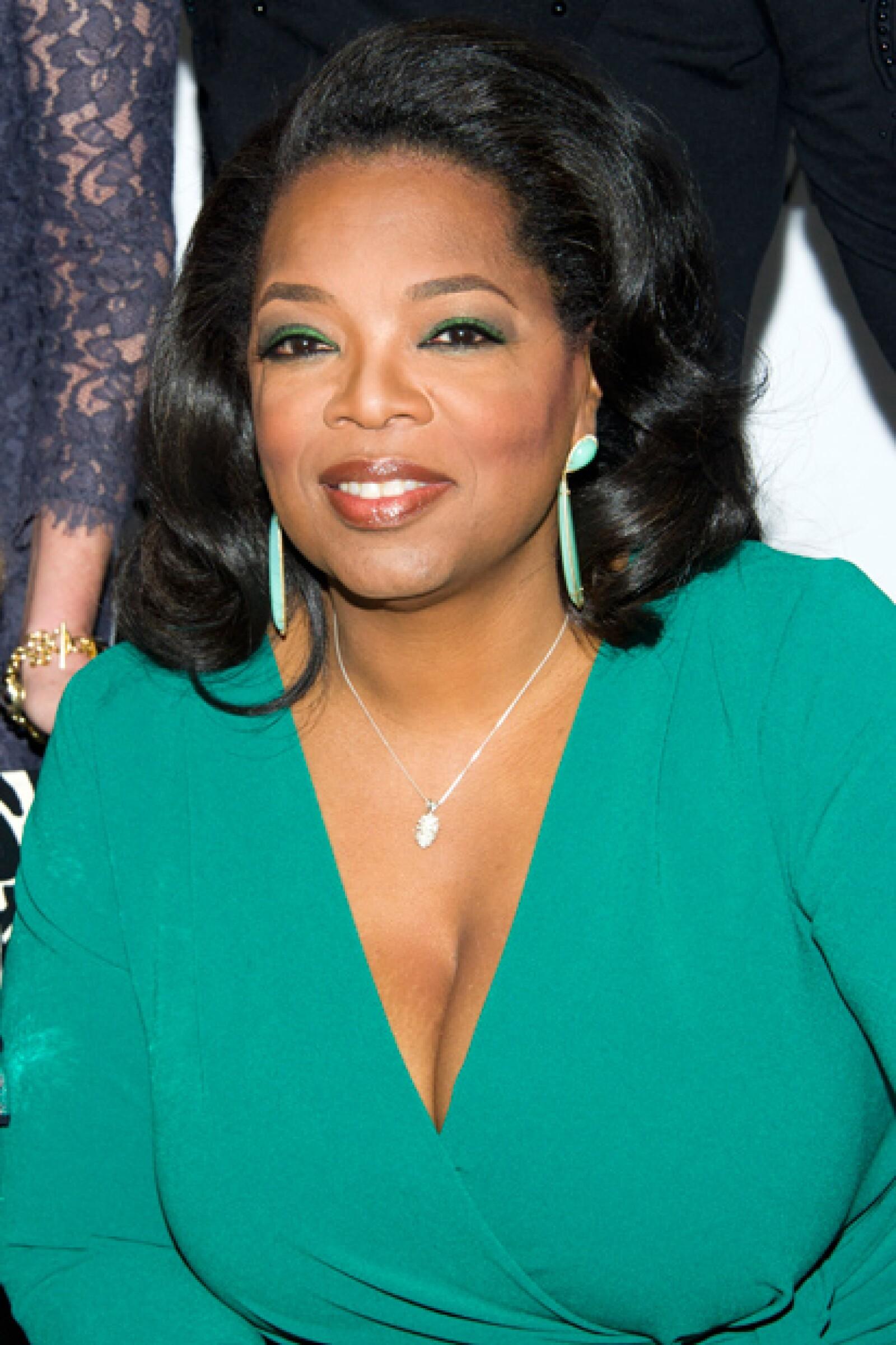 Oprah Winfrey se posicionó como la segunda celebridad más poderosa.