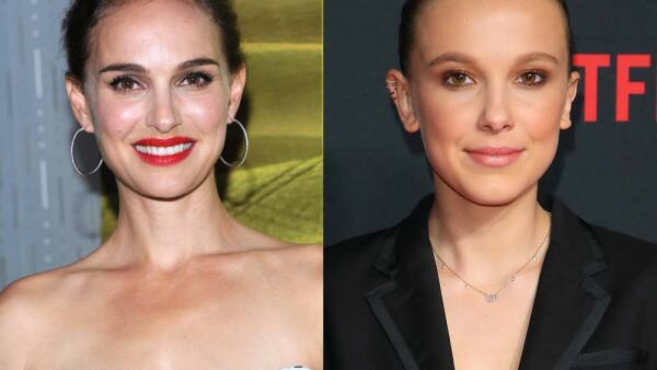 El parecido de ambas actrices es sorprendente.
