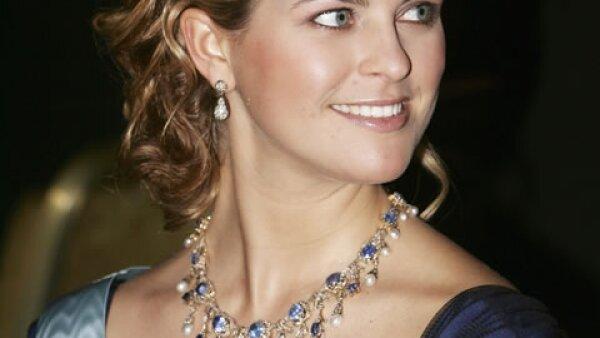 De las pocas veces que la hemos visto de pelo corto, en los Premios Nobel de 2006.