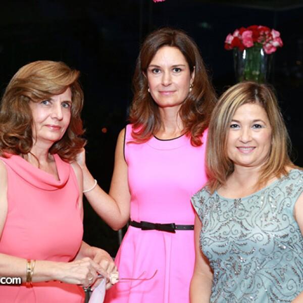 Rosa María Azuara,Mónica Pérez de Zepeda y Martha Maeva de Rodríguez