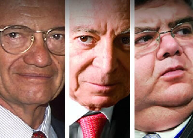Miguel Mancera, Guillermo Ortiz y Agustín Carstens. (Foto: Especial)