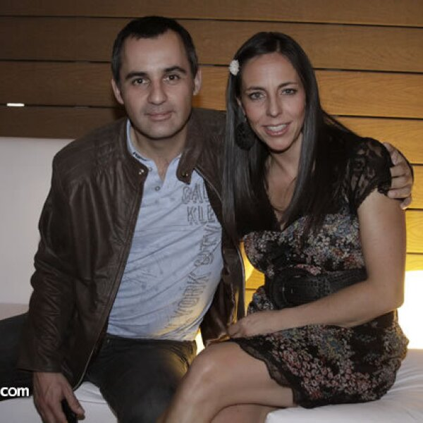 Pablo Lara y Sylvia Rivera Jáuregui