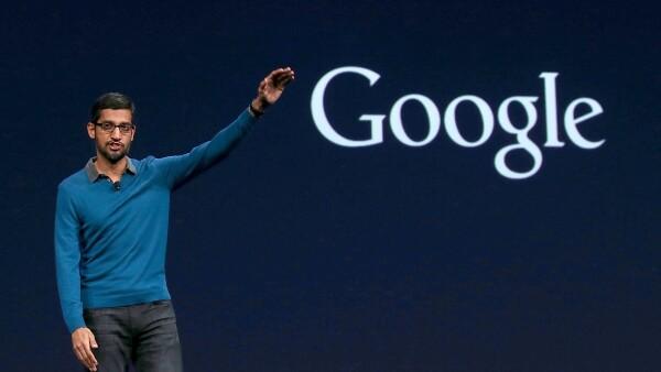 Pichai se incorporó como presidente ejecutivo de la tecnológica en 2015.