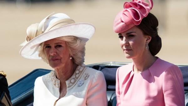 Camilla de Cornualles y Kate Middleton