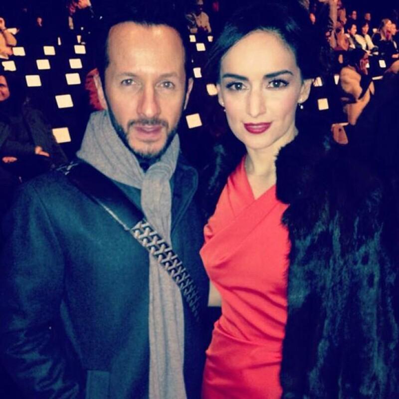 Varios mexicanos como Óscar Madrazo y Aldo Rendón viajaron NY para presenciar la semana de la moda aprovechando la oportunidad para compartir las mejores fotos con la veracruzana.