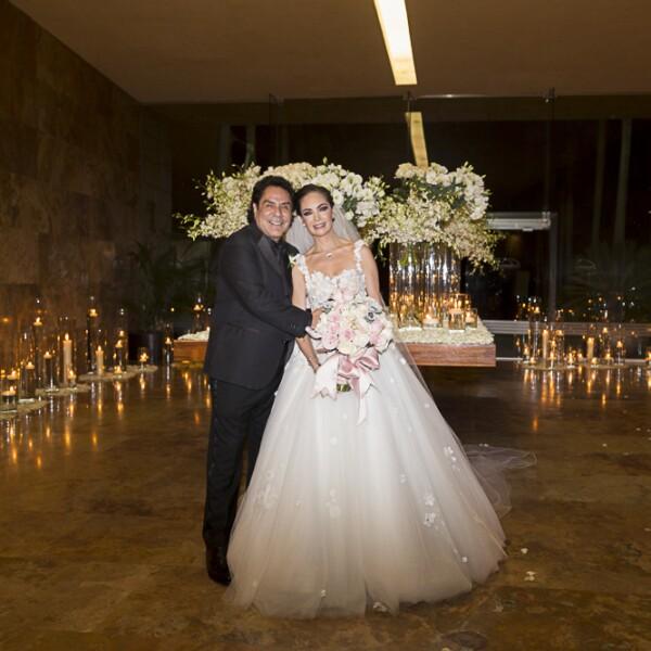 Ernesto Valentín Girón, Paulina Abascal