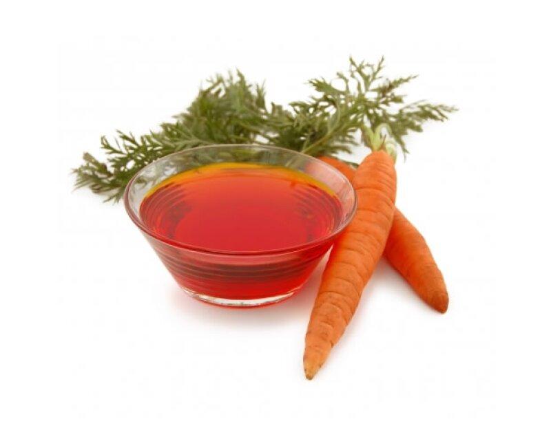 El aceite de zanahorita ayuda a mantener la piel suave y eliminar cicatrices.