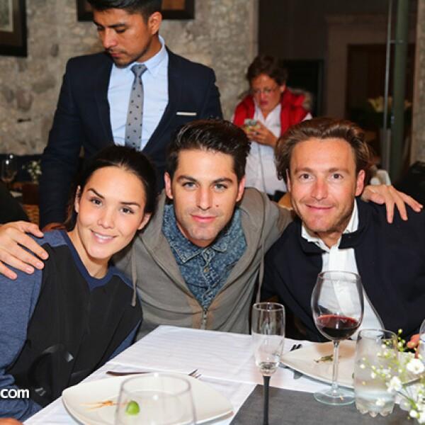 Alex Ivanisevic,Renato López y Mateo Gorina