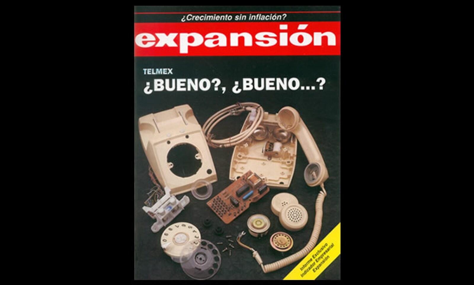 Revista Expansión de febrero 20 de 1991.