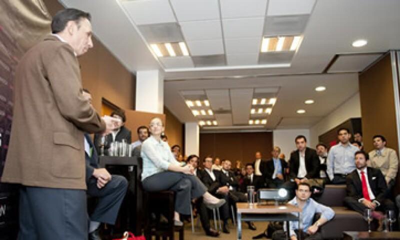 20 empresas finalistas visitaron las oficinas de Grupo Expansión para conocer el proceso de selección. (Foto: Alex H.O.)
