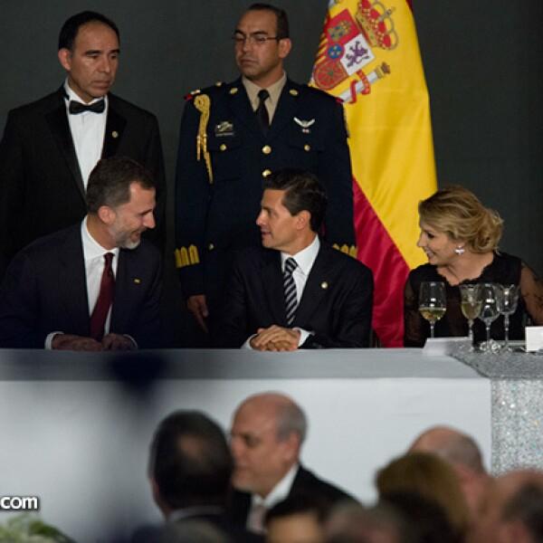 Felipe VI,Enrique Peña Nieto,Angélica Rivera