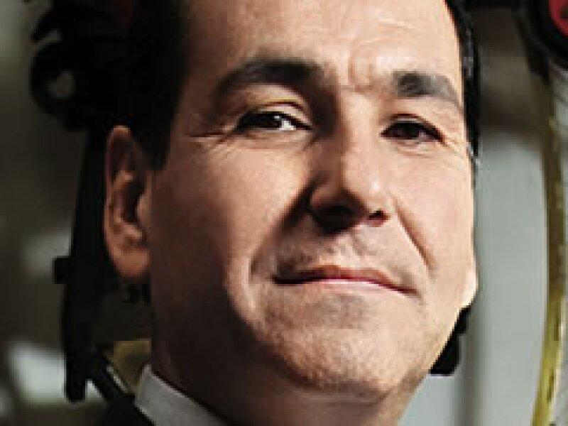 Ismael Plascencia, nuevo presidente de Canadevi. (Foto: Adán Gutiérrez)