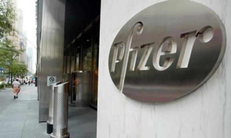 Pfizer proyectó ganancias para todo el año de 2.20 a 2.30 dólares por acción.  (Foto: Reuters)