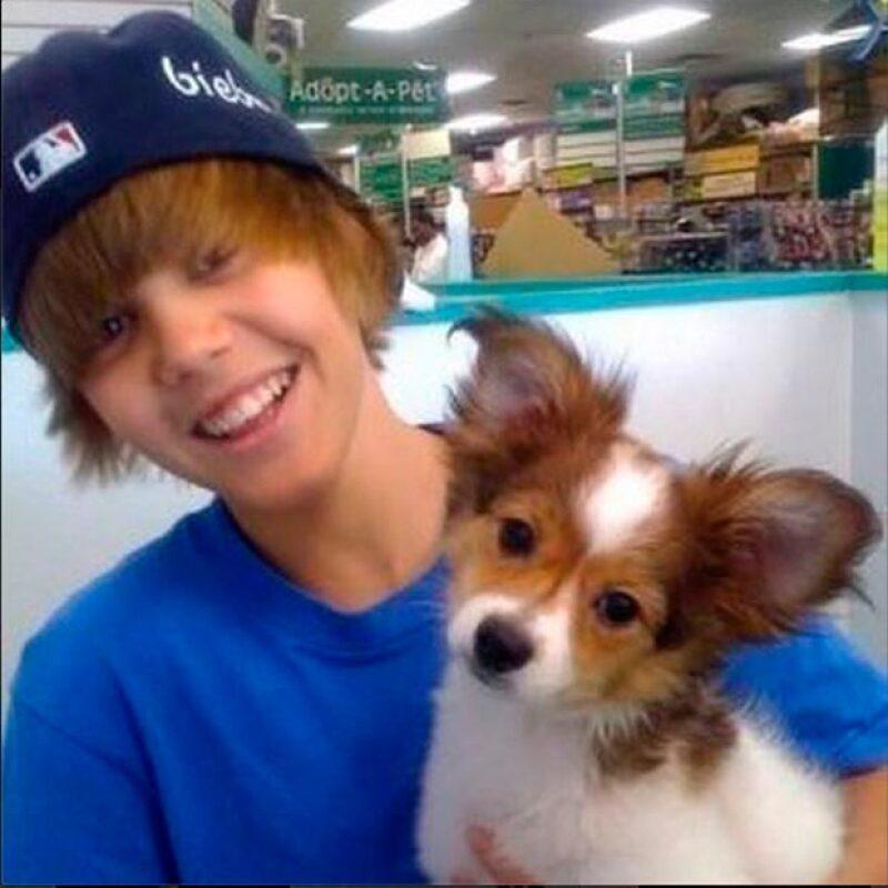 Justin Bieber aseguró que Sammy es el mejor perro que tenido.