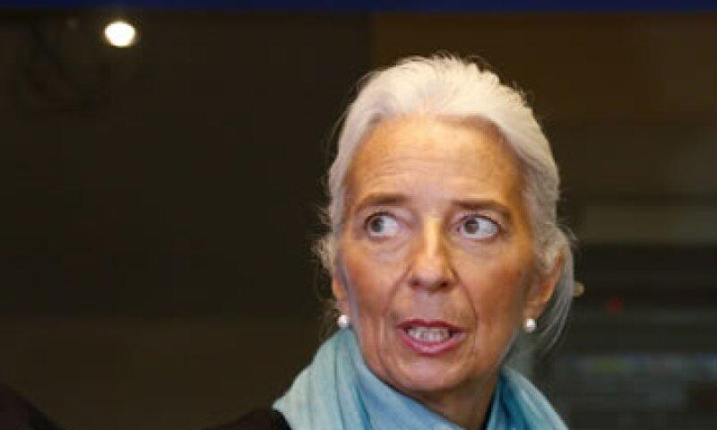 Lagarde dijo que el acuerdo presupuestario logrado es una muy buena señal. (Foto: Reuters)
