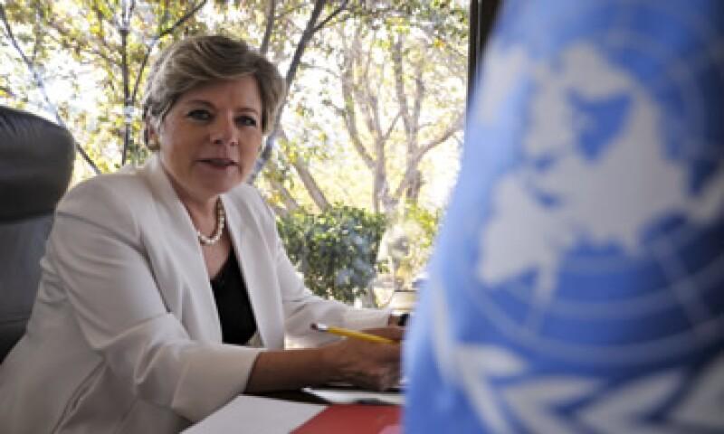 La secretaria ejecutiva de la CEPAL, Alicia Bárcena, descarta una crisis de magnitud important en EU. (Foto: Cortesía CEPAL)