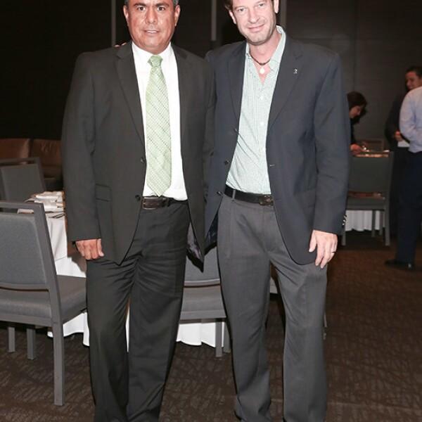 Omar Escobedo y Manuel Portilla