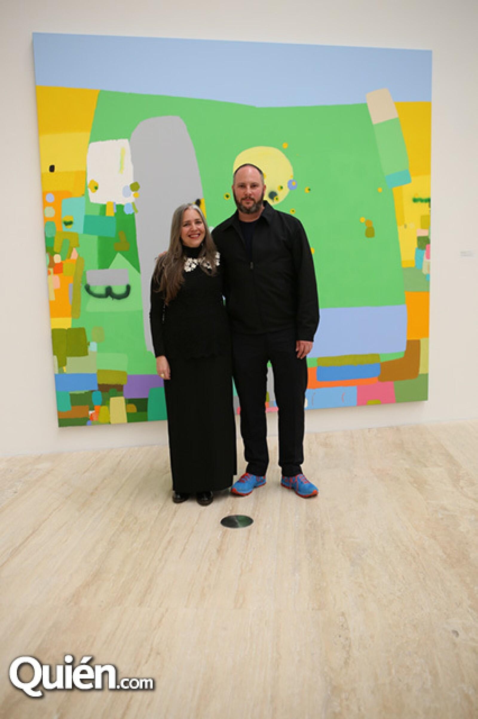 Julieta González y Pablo León de la Barra