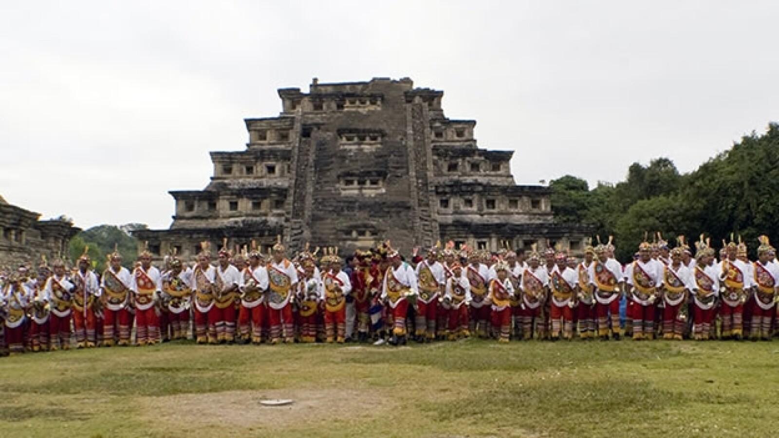 integrantes de la cultura totonaca