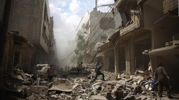 ¿Por qué es tan importante Siria para Estados Unidos y Rusia?