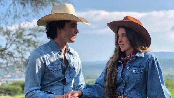 Alex Fernández y Alexia Hernández