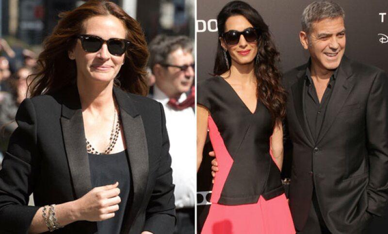 La actriz se ha declarado totalmente enamorada de la esposa de George Clooney, por lo que en entrevista con Late Show With David Letterman, explica el por qué.