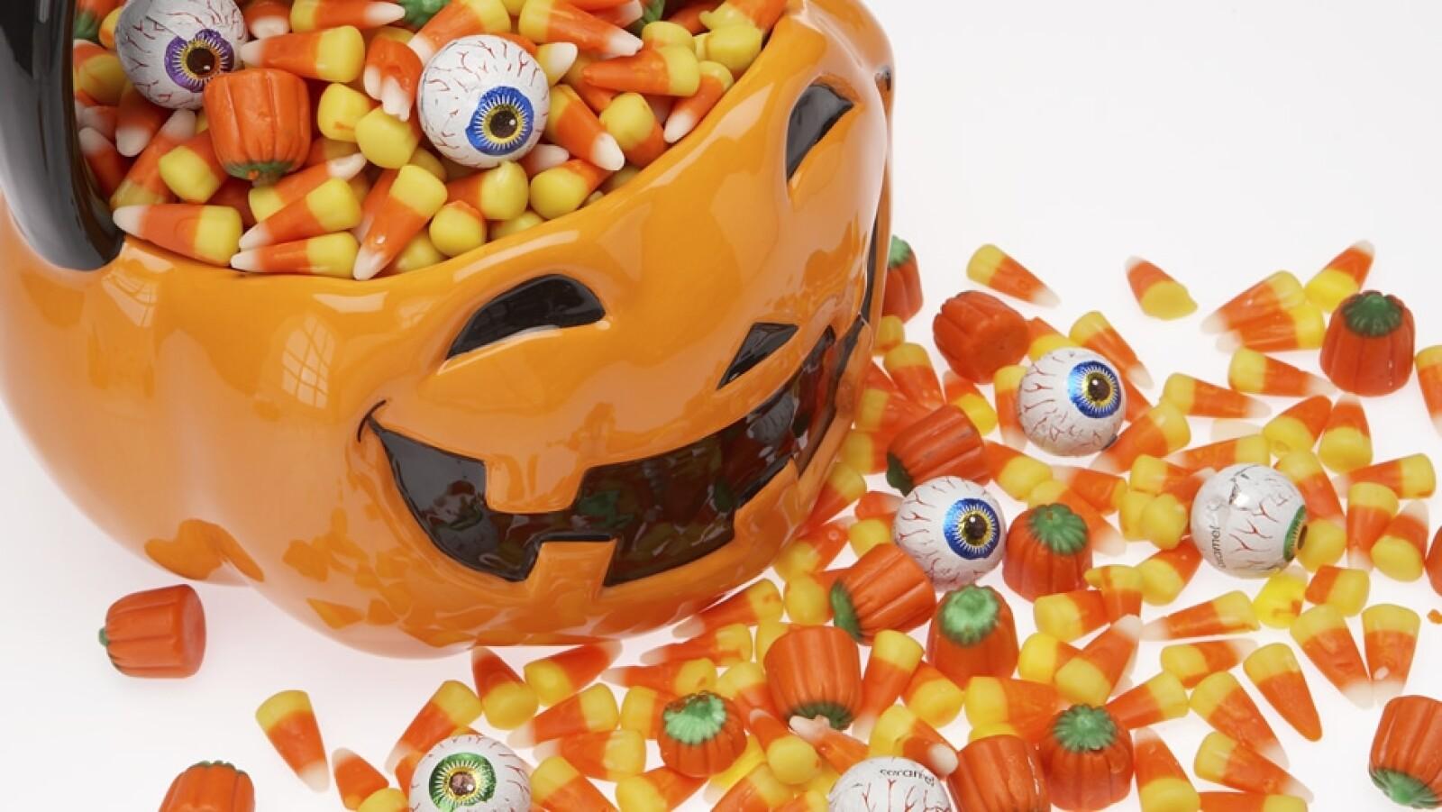dulces halloween dia de muertos