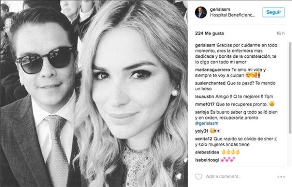 Tanto Gerardo como Mariana, se ven muy enamorados.