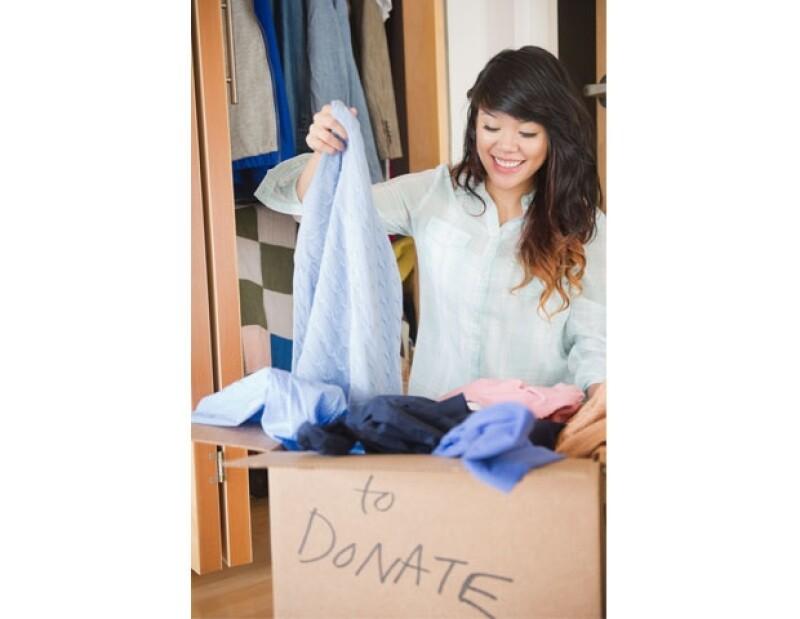 Recuerda que siempre hay opciones para desahacerte de la ropa que ya no quieres.