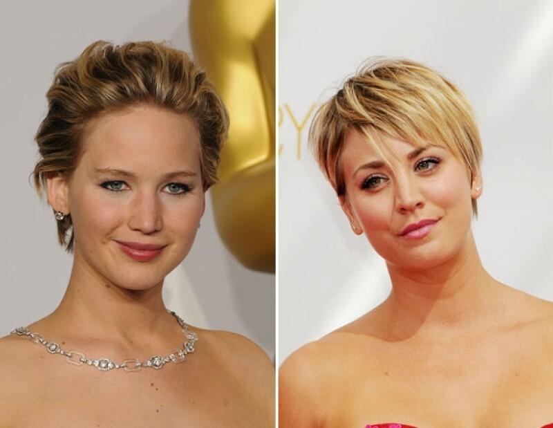 Fotos de Jennifer Lawrence y Kaley Cuoco ya se han propagado por la red.