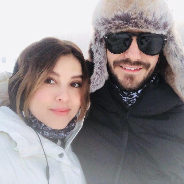 Paulina Goto y Rodrigo Saval