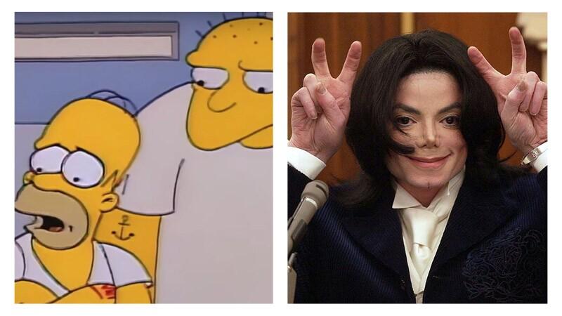 Los Simpson eliminan capítulo de Michael Jackson (Foto: FOX | Getty Images)
