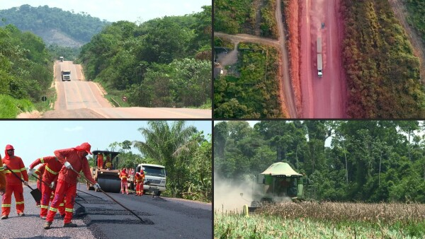 Desarrollo y devastación, las caras de las carreteras abandonadas en la Amazonía