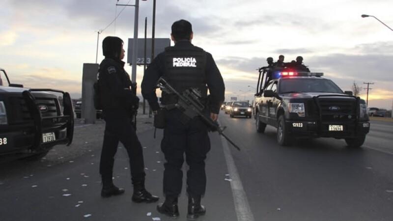 Agentes federales custodian Torreón