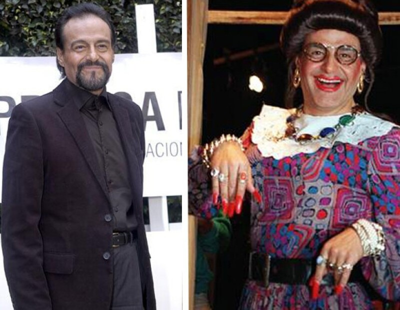 Además de estos dos guapos actores, Gonzalo Vega es otro que se ha puesto los tacones y las medias para dar vida a un personaje femenino.