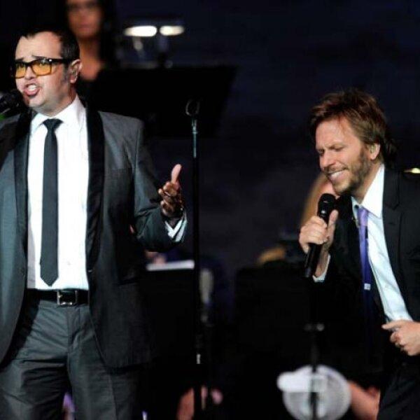 Noel y Aleks también deleitaron al tenor.
