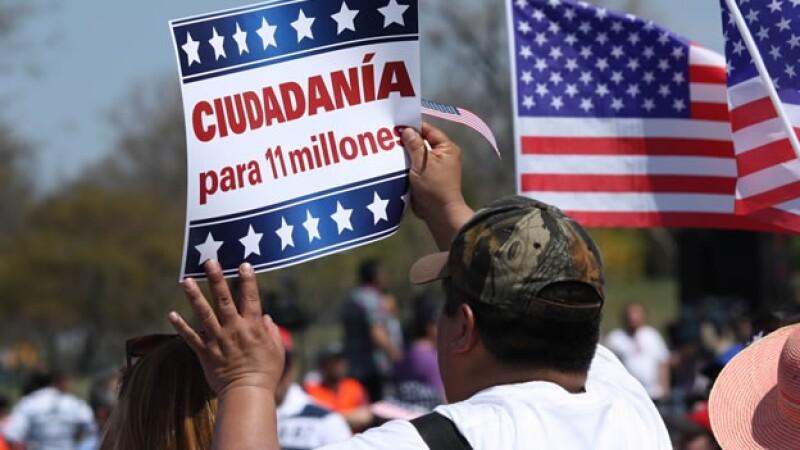 reforma inmigratoria, marcha por la ciudadania, manifestacion, washington