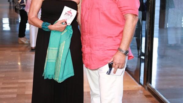 Florencia Schwarz y Enrique Martínez.