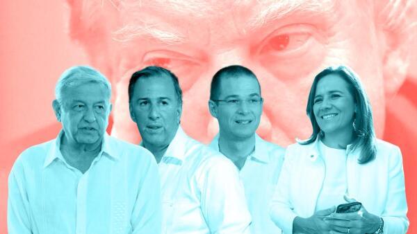 Anaya, Meade y Zavala coinciden en unirse contra Trump