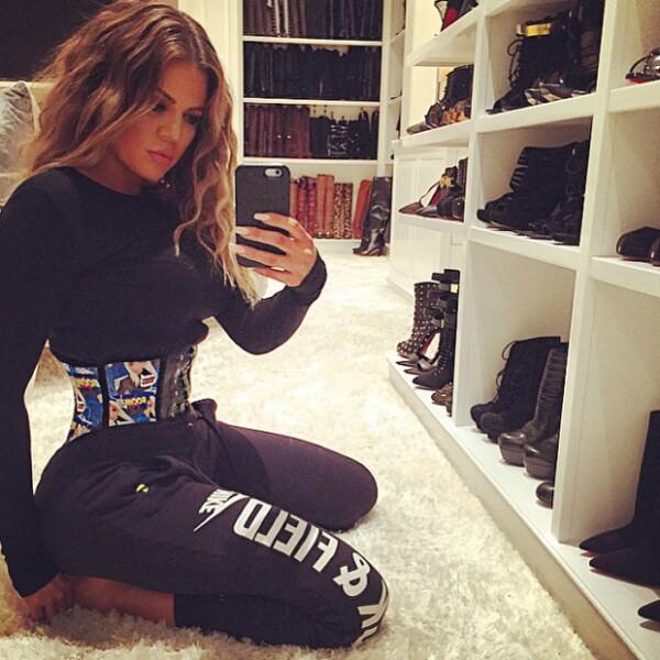 Khloe Kardashian hará lo posible por lucir espectacular a toda costa.