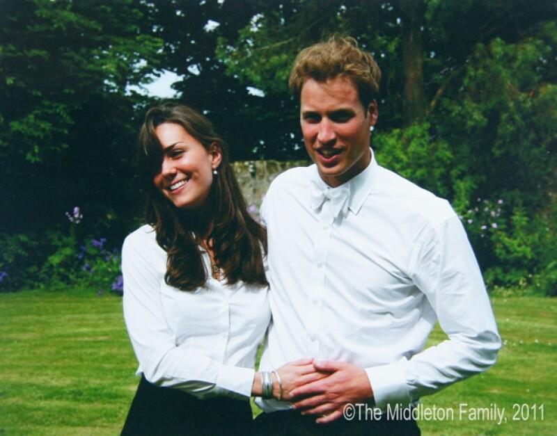 Una de las primeras imágenes que se dieron a conocer de Kate y Guillermo como pareja en 2005.