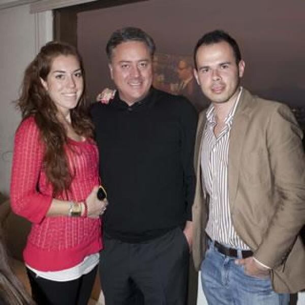 Yvonne Ring,Gastón Gerard,Humberto Rosete