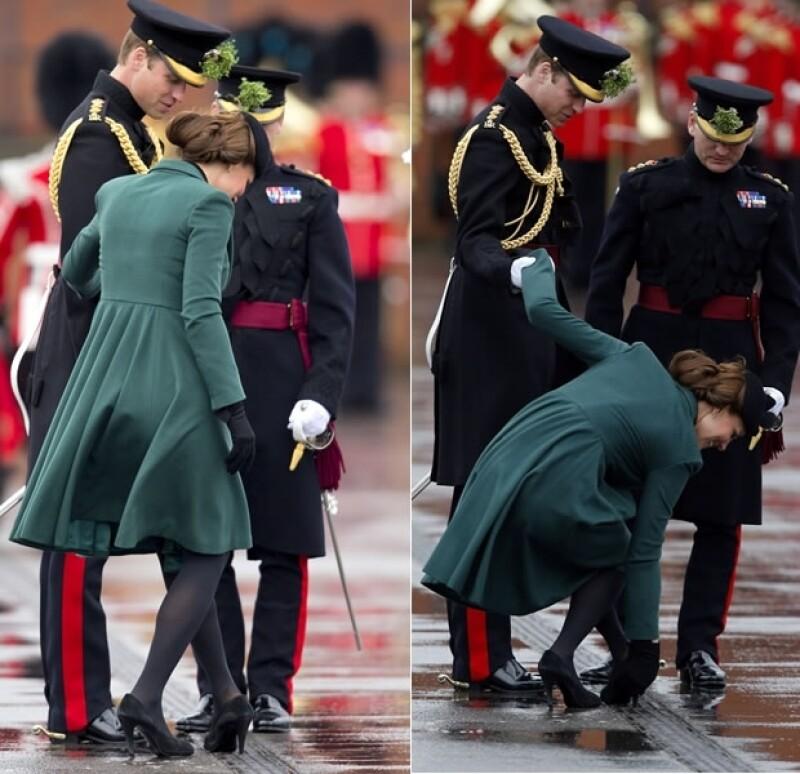 Kate evitó una tragedia.