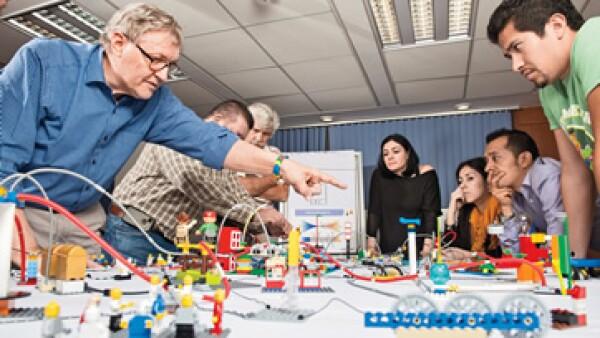 LEGO Serious Play  llegó a México en 2012, a través de Global Managers, una consultora de estrategias e innovación empresarial. (Foto: Carlos Aranda)