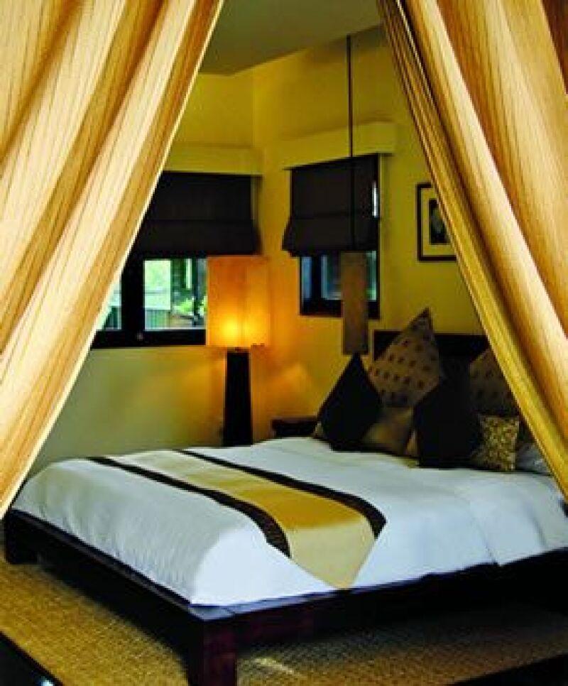 El resort tiene prácticas de regeneración de luz amigables con el medio ambiente.
