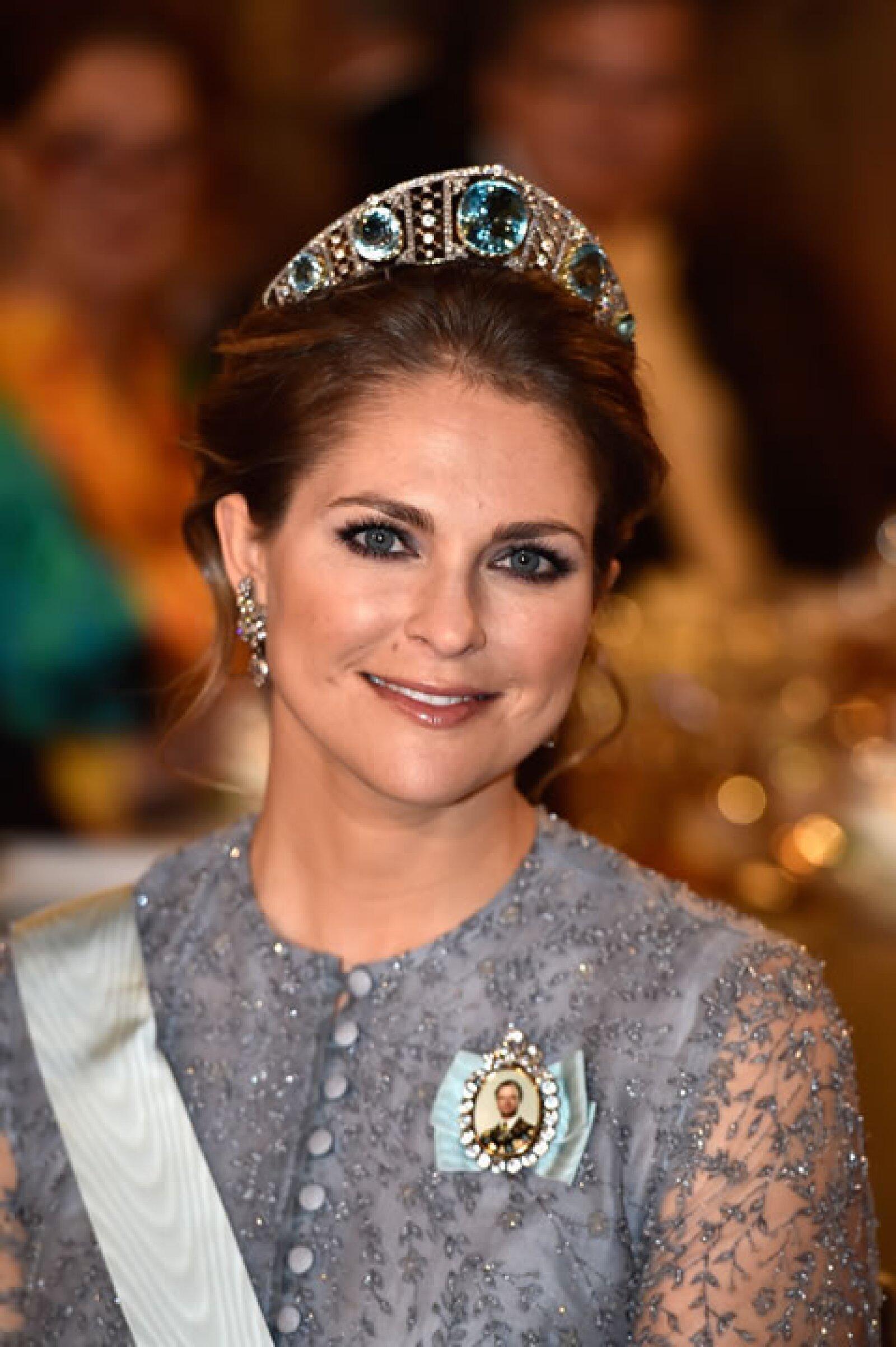 Ella es Madeleine de Suecia, hija del rey Carlos XVI Gustavo y la reina Silvia de Suecia.