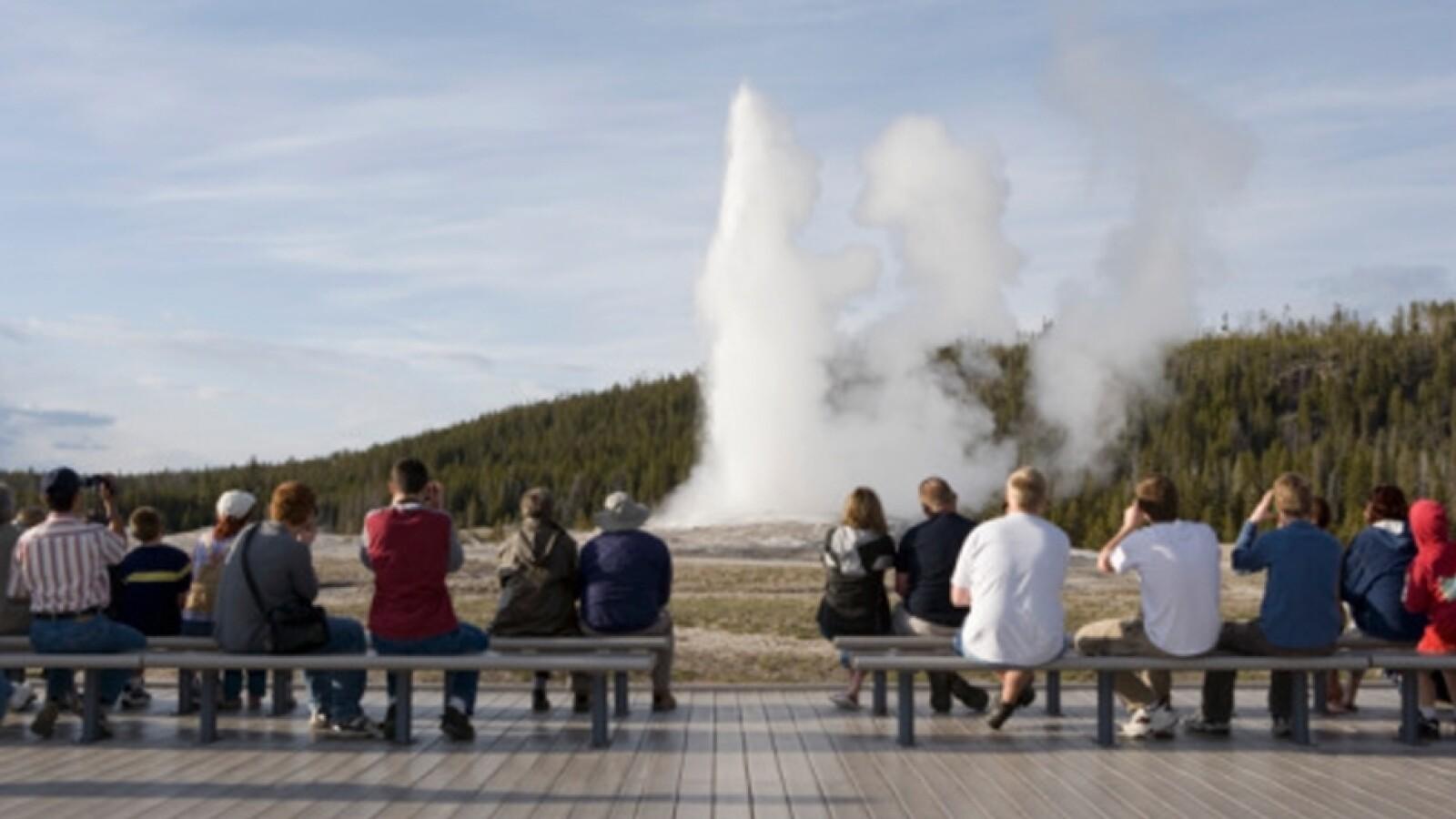 géiseres Parque Nacional Yellowstone