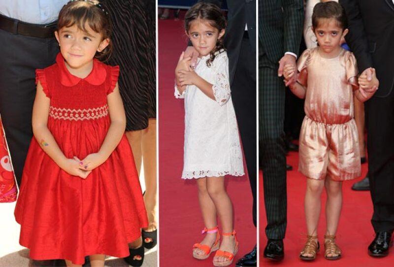 A diferencias de otros hijos de famosos, Valentina tiene un estilo tradicional. Los vestidos son un básico en su guardarropa.