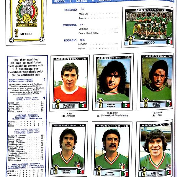 Album panini Argentina 1978